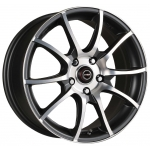 Racing Wheels H-470 6.5x15/5x114.3 ET40 BK F/P